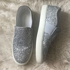 Mark Fisher sparkly shoes!